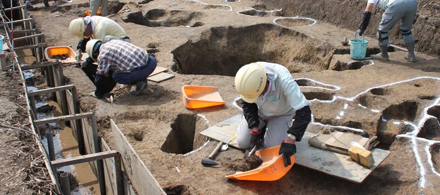 埋蔵文化財発掘調査   技術・サービス   株式会社 吉田建設