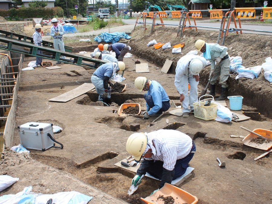 村下遺跡発掘調査支援業務   実績紹介   株式会社 吉田建設